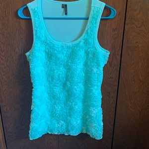 Mint Maurices Rose Tank
